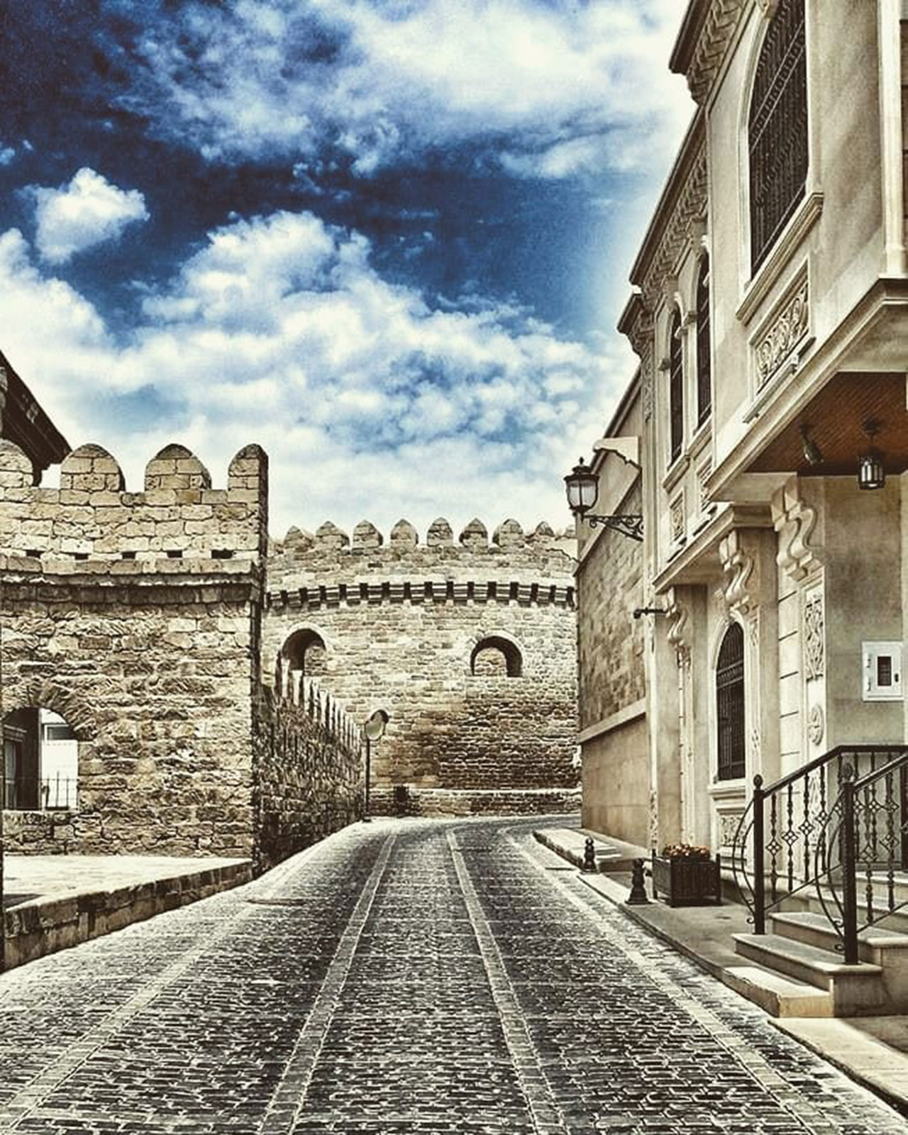 Do a Walking Tour of the Baku Old City